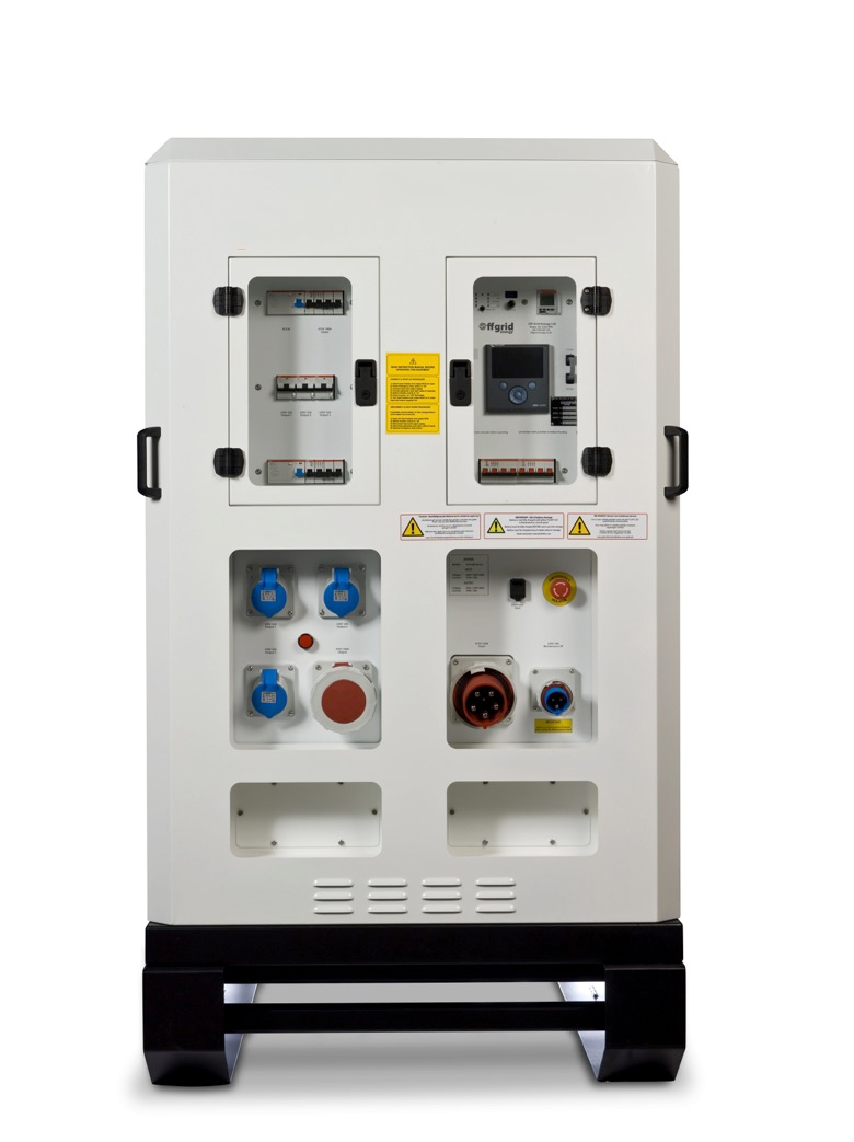 Diverse Power Systems Battery Monitor : Hybrid power hire lower emission temporary rentals